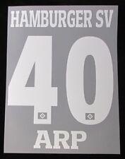 HSV Hamburger SV ARP Player Flock 25 cm fürs adidas Away/3rd Trikot 2017-2018