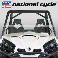 """National Cycle Low Clear Windshield 10.25"""" Can-Am Commander 1000x 800R 2011-2015"""