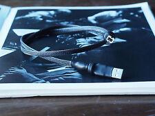 Câble USB argent pur liaison numérique THDG 1 ml l'Atelier Acoustik !