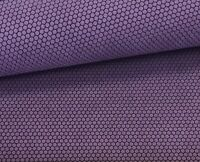 """Leather Sheet for Earrings, Shoes, Crafts - PURPLE Honeycomb embossed 12""""x12"""""""