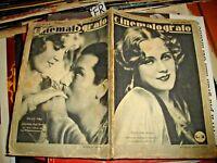 Cine Año IV° N.8 de 30/8/1930 - Pandit Garbo Valentino Etc