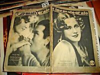 CINEMATOGRAFO anno IV° n. 8 del 30/8/1930 - PETROLINI GARBO VALENTINO etc.