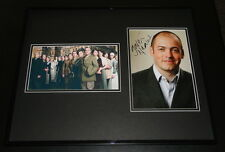 Gareth Neame Signed Framed 16x20 Downton Abbey Photo Display AW