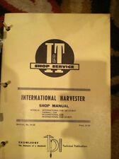 I&T Shop Service Manual International Harvester Farmall Cub 154 Lo-boy IH-38