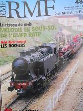 RMF Rail Miniature Flash n°485 2005 Le Reseau Melodie En Sous Sol De L'A [TR.33]