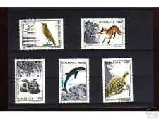 1034++ROUMANIE   SERIE TIMBRES  ANIMAUX  SAUVAGES