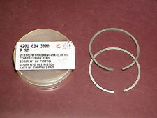 NEW OEM STIHL Concrete CutOff Saw 49mm Piston Rings 08 S 08S TS 350 AVE 360 08S