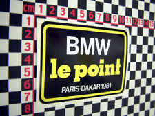 BMW Le Point Paris Dakar R80 GS Sticker 1981