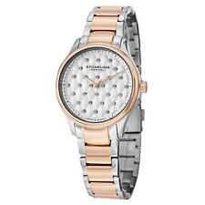 Stuhrling Women's 36mm Multicolor Steel Bracelet & Case Quartz Date Watch 567.03