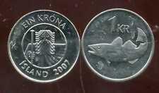 ISLANDE  1 krona  2007  ANM