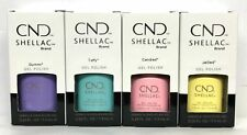 CND Shellac Gel Polish Chic Shock Full 4pcs Spring Collection!