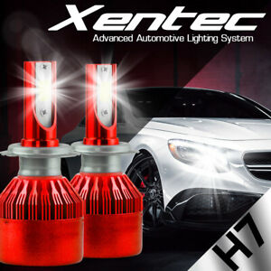 XENTEC LED HID Headlight Conversion kit H7 6000K for Volkswagen GTI 2006-2016