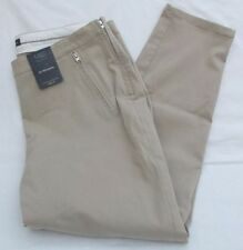 Marks and Spencer Cotton Tapered 28L Trousers for Women