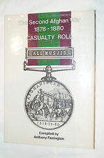 British Indian Second Afghan War 1878-1880 Cassualty Roll Reference Book