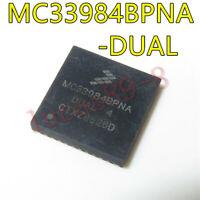 1PCS MC33984BPNA Encapsulation:QFN,Dual Intelligent High-Current Self new