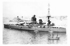 rp17824 - Royal Navy Warship - HMS Nelson at Fleet Review - photo 6x4