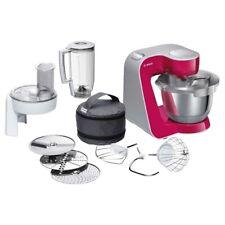 Bosch MUM5 MUM58420 CreationLine Küchenmaschine rot/silber kochen backen