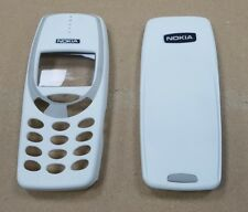 New For Nokia 3310 3330 Front Fascia + Battery Cover Housing White