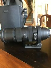 Sigma DG 150-500mm f/5-6.3 APO HSM DG SLD RF OS Lens For Canon EXCELLENT COND