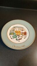 Christmas Plate Series 8Th Edition Country Christmas-Vintage 1980 Enoch Wedgwood