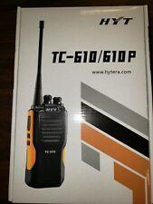 Hyt Tc-610 Professional Vhf 16 channel 5 Watt Two-Way Radio + Speaker Mic