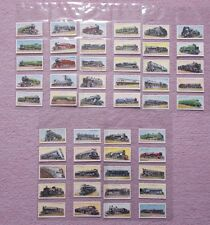 CIGARETTE CARDS  - RAILWAY ENGINES