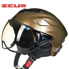 ZEUS Motorbike Helmet Half Face Riding Protective Electric Bicycle Rider Helmets