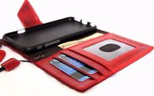 genuine leather Case for apple iphone 6s book wallet handmade magnetic cover