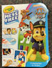PAW Patrol Crayola Color Wonder Coloring Kit Mess Free with 3 Markers Free Ship