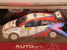AUTOART FORD FOCUS WRC MCRAE/GRIST '99 #7  DIE-CAST ART.89911 1:18