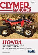 Clymer Repair Service Shop Manual Vintage Honda TRX400EX Sportrax 01,02,03,04-13