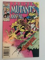 New Mutants Annual #2 VF- 7.5 1ST APPEARANCE of PSYLOCKE! 1986 Newsstand!