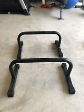 Body Power Push up Stand Parallettes 12x24 inch Non-Slip