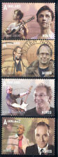 Norway - 2012 set of 4 used stamps #1686-9 cv $ 14.00 Lot #667