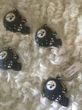 Pittsburgh Steelers Keychain Rubber Key Fob New