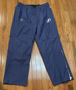 Men's Tampa Bay Lightning Fanatics Branded Authentic Pro Rink Pants NWOT 2XL