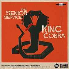 THE SENIOR SERVICE - KING COBRA   VINYL LP NEU
