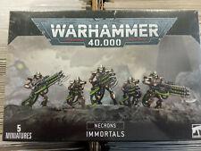 WARHAMMER 40K NECRON IMMORTALS / DEATHMARKS - NEW AND SEALED