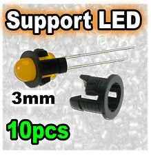 959/10# Support LED 3mm modèle 1 --- 10pcs
