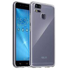 Étuis, housses et coques transparents en silicone, caoutchouc, gel pour téléphone mobile et assistant personnel (PDA) ASUS