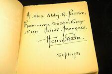 Signed Poivre et Sel - Brun, Henry Np Deux Rives Paperback Book