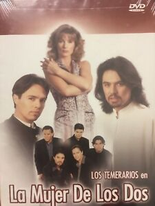 New Los Temerarios en La Mujer De Los Dos Pelicula DVD Sealed