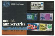 GB 1969 Notable Anniversaries Presentation Pack VGC stamps. Free postage!!