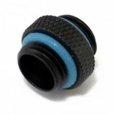 """XSPC G1/4"""" 5mm Male to Male Fitting, Matte Black"""