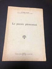 LE PECORE PIEMONTESI VITTORINO VEZZANI PIACENZA 1930 ZOOTECNICA ALLEVAMENTO