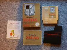 The Legend of Zelda / Nintendo Nes / PAL / OVP  Gold, goldenes Modul, Komplett