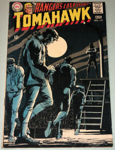 Tomahawk #117 VG/F 1968 DC Comic Book Silver Age Western Neal Adams Cover