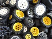 LEGO 20 Technic Räder Rad Reifen Ballon Felge Sammlung kg Fahrzeuge Konvolut