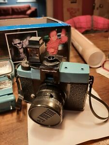Diana F+ full kit with extra lens and film - Lomography - kept in a box since 20