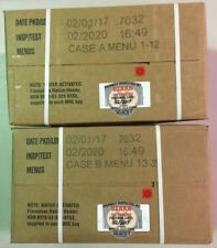 Military MRE 2020 Inspection MRE A and B Case